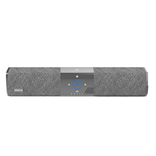 Altavoz subwoofer, Altavoces Bluetooth Soporte de Barra de Sonido portátil con Ajuste de Profundidad con Sensor NFC 3 Altavoz de subgraves de Alta fidelidad Altavoz portátil para TV Soporte de baterí