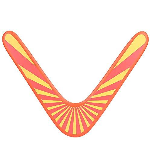 Boomerang de Retorno de Madera Boomerang clásico en Forma de V Juegos al Aire Libre Juguete Deportivo para niños Juegos al Aire Libre para niños