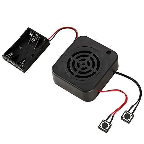 DIY Soundmodul Recording Box Aufnahmemodul Sprachaufzeichnungsbox für die Aufnahme von Geschenk kreativen Geständnisartefakten Musik Audio 4 Minuten (Spiel es nochmal)