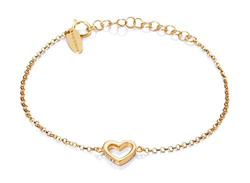 Pulsera Viceroy Jewels 6006P100-07 Corazón Plata Dorado