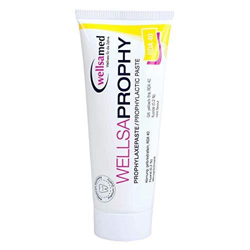 wellsamed Wellsaprophy Profylaxepasta RDA 40, extra fijne korrel, 95 g tube, polijstpasta, tandpolijstpasta, profy-pasta…