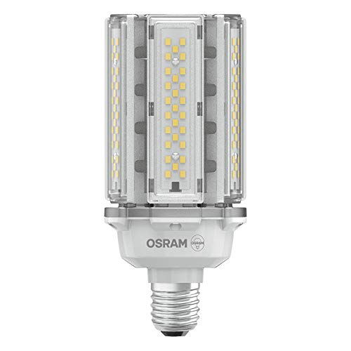 OSRAM LED-Lampe | Sockel: E27 | Kaltweiss | 4000 K | 30 W | Ersatz für 80-W-N|A | klar | HQL LED PRO [Energieeffizienzklasse A++]