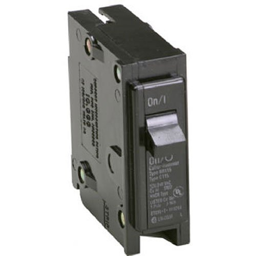Eaton Corporation Br115 Single Pole Interchangeable Circuit Breaker, 120V, 15-Amp