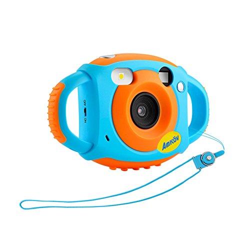 AMKOV Mini Kinder Kamera mit 1,77 Zoll Farbdisplay 500 Millionen Pixel High-Definition Unterstützung Video und Multi-Language für Kinder Geburtstag Festival Geschenk