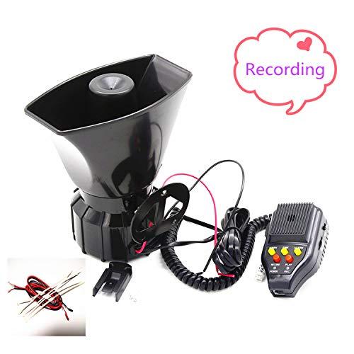 YIYDA Bocina de coche Car Horn Bocina de megáfono para Amplificador de...