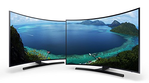 "Samsung UA-49KU7350 49"" UHD 4K Curved Multi-System Smart Wi-Fi LED TV 110-240 Volt w/Free HDMI Cable"