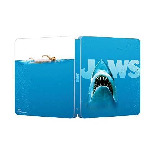 Lo Squalo - Edizione Limitata 45° Anniversario Steelbook 4K Uhd + Blu-Ray (Limited Edition) (2 Blu Ray)