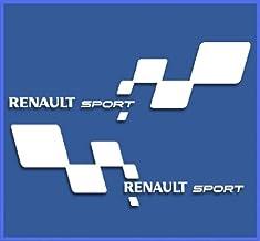 Pegatinas Renault Sport RS 33 DR1018 Vinilo ADESIVI Decal AUFKLEBER КЛЕЙ Stickers Car Voiture Sport Racing