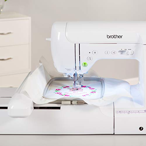 "Brother SE1900 Sewing and Embroidery Machine, 138 Designs, 240 Built-in Stitches, Computerized, 5"" x 7"