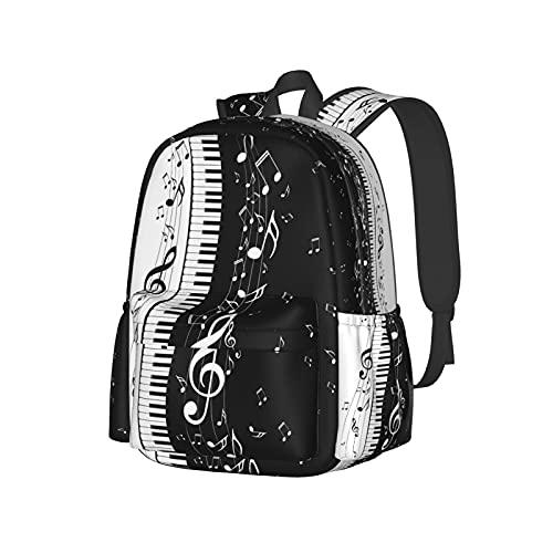 Delerain Mochila de 17 pulgadas para ordenador portátil, mochila escolar, bolsa de...