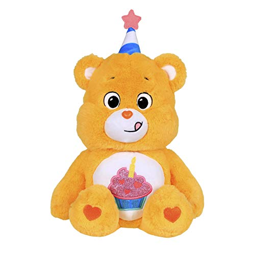 Care Bears 16' Birthday Bear Plush - Scented Plush - Soft Huggable Material!, 16 inches