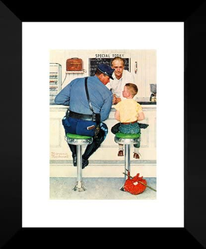 The Runaway 20x24 Framed Art Print by Norman Rockwell product image