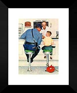 The Runaway 20x24 Framed Art Print by Norman Rockwell
