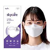 KF94マスク 韓国マスク 普通サイズ 少し小さめ 立体 小顔 韓国製10枚 個包装 白 3D加工 口紅が付きにくい