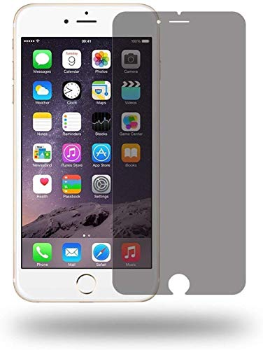 Wunderglass - Panzerglas Privacy Screen Protector kompatibel mit iPhone 7 Plus / 8 Plus Blickschutz Sichtschutz Folie aus echt Glas