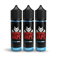 FLAVOUR: Heisenberg - Mixed Red Berries & Menthol MADE IN THE UK: All products are made in the UK from the highest quality ingredients. VG & PG are all pharmaceutical grade and our flavours are all food-grade quality. VAMPIRE VAPE RANGE: KONCEPT - 50...