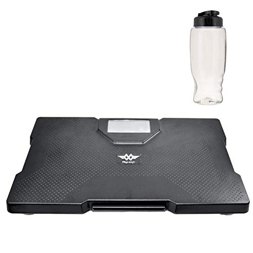 Gear Nation Healthy Living Bundle My Weigh XL 700 Pound Scale. Free Water Bottle. High Capacity Safe. XL700 Voice Weight Scale
