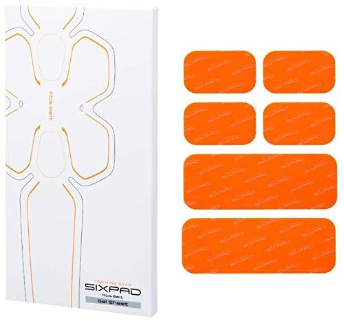 シックスパッド アブズフィット2高電導ジェルシート(Abs Fit2) 1箱6枚入り [並行輸入品]