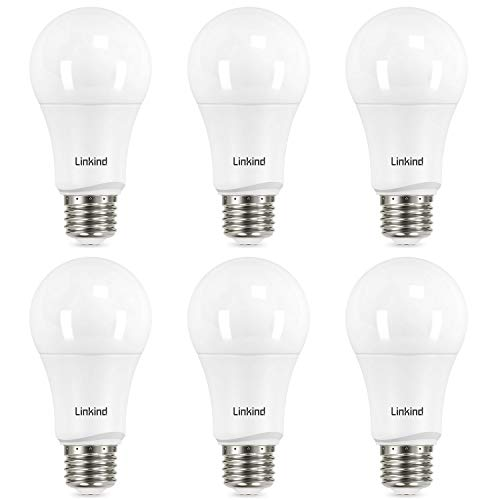 Linkind Dimmable A19 LED Light Bulbs, 100 Watt Equivalent,...
