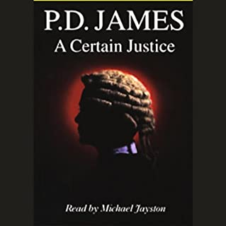 A Certain Justice audiobook cover art