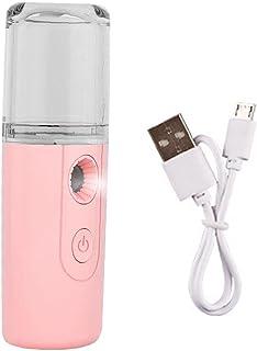 Nano Mist Sprayer Mini Facial Mister Cool Facial Steamer 30ml voor Gezichtshydratatie & Vocht Draagbare USB Oplaadbare Mus...