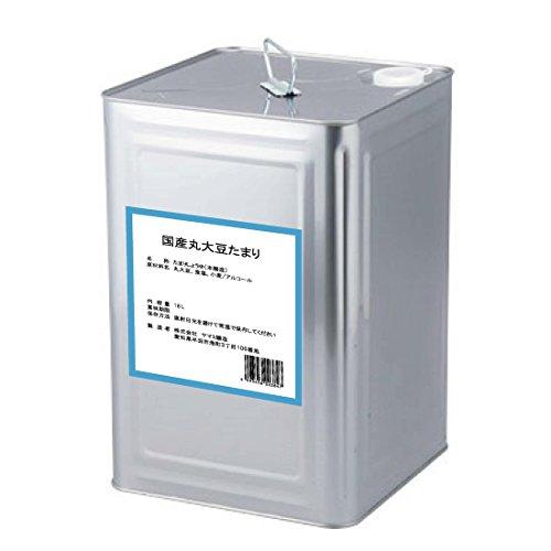半田の旨味家 国産丸大豆 たまり醤油 18L/一斗缶 化学調味料無添加