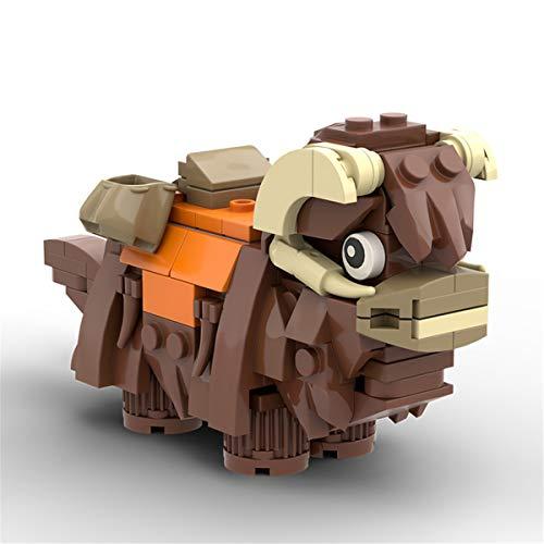 JING Montaje De Kits De Ladrillos De Construcción, Creativo Animal Figura Torre Inbansa Rompecabezas Modelo Construcción Ladrillos Educativos Juguetes Bricolaje Niños Cumpleaños Regalos