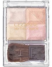 セザンヌ ミックスカラーチークN10 ペールハイライト 7.1g 自然なツヤ 透明感 4色ハイライト