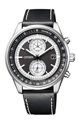 [シチズン] 腕時計 シチズン コレクション エコ・ドライブ スマートスポーツクロノグラフ CA7030-11E メンズ ブラック