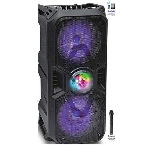 iDANCE XD1000 - Lautsprecher Trolley Farbe Schwarz Bluetooth