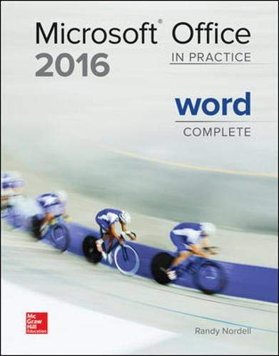 Microsoft Office 2016: In Practice - Word Complete