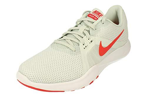 Nike Damen W Flex Trainer 8 Fitnessschuhe, Mehrfarbig (Barely Grey/Ember Glow/Sail 007), 38.5 EU
