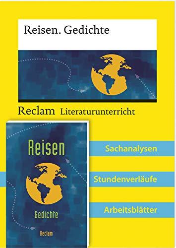 Lehrerpaket: Reisegedichte-Textband und Lehrerband zum Abiturthema »Reisen / Unterwegs sein«