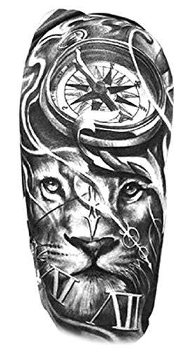 Männer tattoo arm löwe