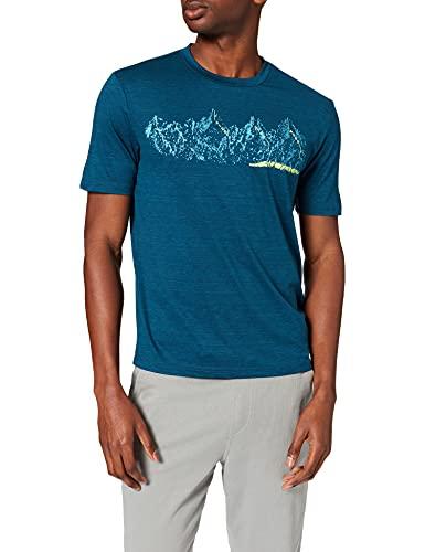 Killtec Herren Lilleo MN TSHRT C Funktions T-Shirt, dunkelblau, 4XL