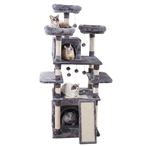 MADE4PETS 66 INCHES MULTI-LEVEL CAT TREE TOWER