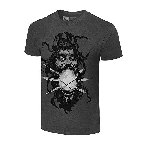 WWE Bray Wyatt Lantern Authentic T-Shirt, Grau, Mittel