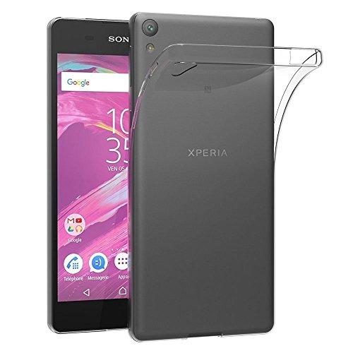 MaiJin Coque pour Sony Xperia E5 (5 Pouces) Etui Housse Protection en TPU avec Absorption de Choc Bumper et Anti-Scratch (Sony Xperia E5)