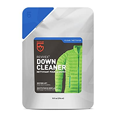 GEAR AID Revivex Down Cleaner for Jackets and Sleeping Bags, 10 fl oz wash
