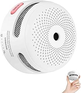 scheda x-sense mini rilevatore di fumo, rilevatore di fumo fotoelettrico con innovativo allarme antincendio, con batteria dalla durata di 10 anni, en 14604, con certificazione tÜv, xs01 (1 pezzi)
