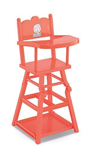 Corolle Mon Grand Poupon 36-42cm 2in1 Hochstuhl / Hochstuhl oder Spieltisch für alle 36-42cm Babypuppen / 52x23x23cm / Für Kinder ab 3 Jahren geeignet