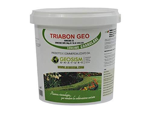 Triabon, engrais NPK (Mg, S) 16-8-12 + (4.22) + micro-éléments (1 kg)