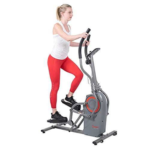 Sunny Health & Fitness Performance Elliptical Machine Cross...