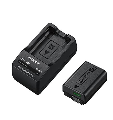 Sony HVL-F32M Systemblitzgerät für für Multi-Interface-Zubehörschuh & Acc-TRW Akku Zubehör Kit mit BCT-RW Ladegerät und NPFW50 W-Serie Li-Akku (geeignet für A6000 Serie, A7 Serie und RX10 Serie)