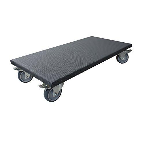 Transportroller 200 kg Möbelroller 300x600 mm Rollbrett Allzweckroller Möbel Roller Rollen Gummirad