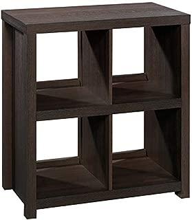 Sauder HomePlus Cube Bookcase, 4 Shelves, Dakota Oak