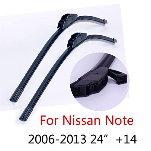 HZHAOWEI Wisserbladen, voor Nissan Note 24