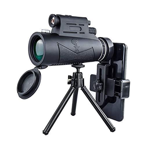XIEZI Telescopio De Viaje Portátil Monoculares De Visión Nocturna para Exteriores con Tres Juegos De Luces Láser Telescopio De Cámara para Niños De Alta Definición Portátil Telescopio De Trí