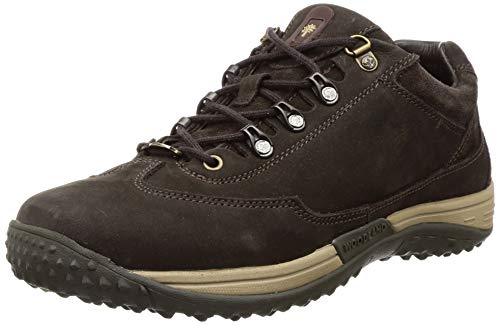 Woodland Men's Gc 2583117d_Russia Dbrown_7 Leather Sneakers-7 UK (41 EU) (8 US)