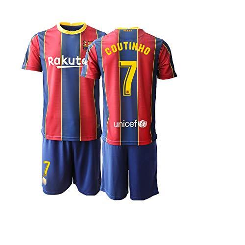 JEEG 20/21 Herren Coutinho 7# Fußball Trikot Fans Jersey Trainings Trikots (M)